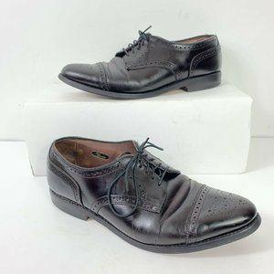 Allen Edmonds Sandford CapToe Shoes Men Sz 9